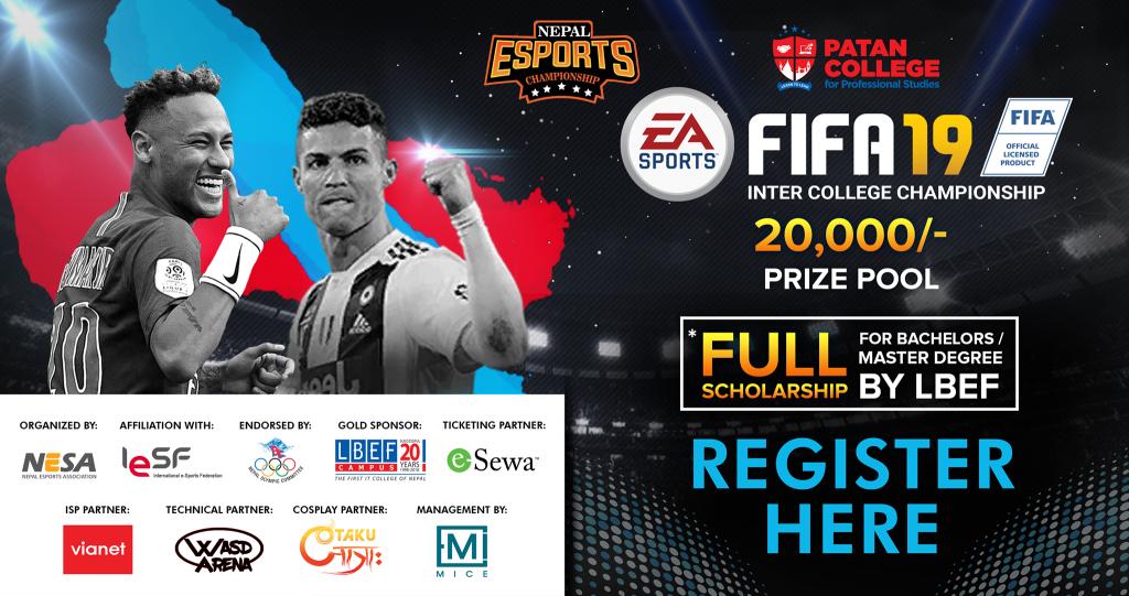 Patan College FIFA 2019 Inter College Championship